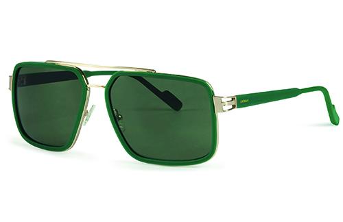 Locman LOCS001/04 green/gold 61 Akiniai nuo saulės