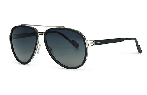 Locman LOCS010/01 black silver 59 Akiniai nuo saulės
