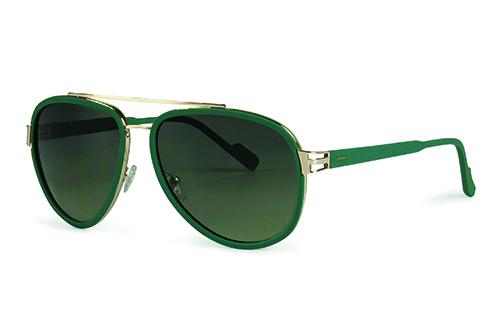 Locman LOCS010/04 green/gold 59 Akiniai nuo saulės
