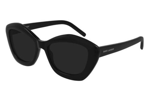 Saint Laurent SL 68 001 black black black 54 Akiniai nuo saulės Moterims